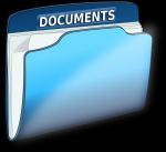 teczka z dokumentami