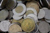 pieniądze w monetach