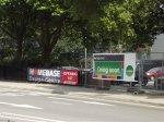 reklama przy ulicy